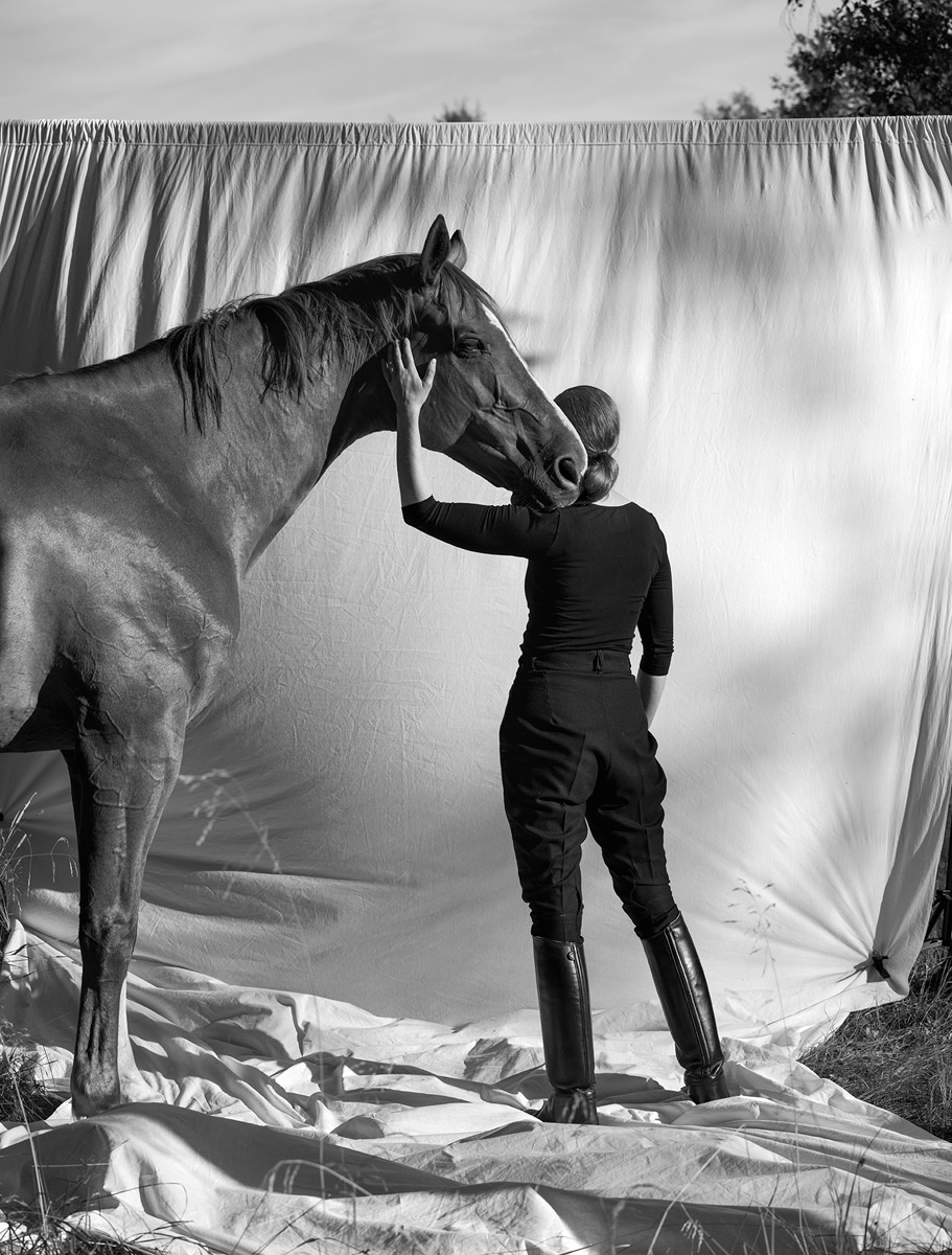 glorious anja niemi the rider a moment of trust horse